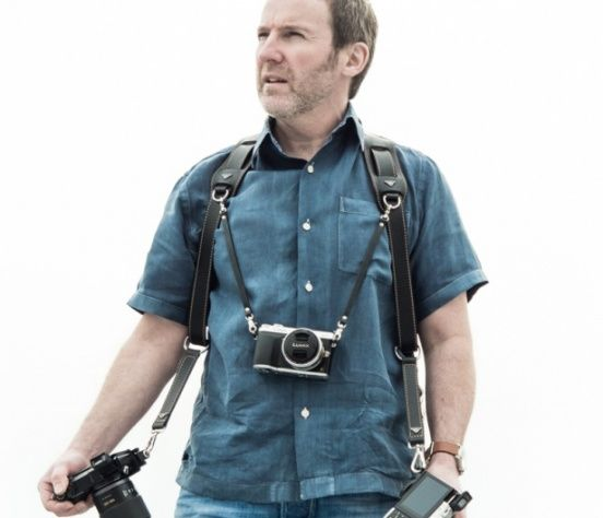 """9"""" Chest straps keeps your camera in place."""