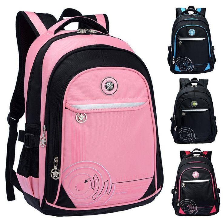 Повседневная школьная сумка уменьшающая нагрузку на плечи для учеников в корейском стиле, рюкзак для отдыха и путешествий