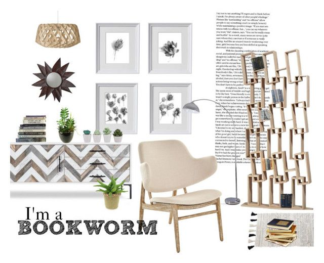 Natural Tones Living Room Decor by kacix on Polyvore featuring interior, interiors, interior design, home, home decor, interior decorating, Jayson Home, Catalina, Pom Pom at Home and Universal Lighting and Decor. Home decor set in neutrals! Variety of succulent plants and black and white succulent-inspired gallery wall decor. #neutraldecor #neutral #livingroom #gallerywallart #gallerywall #succulents #blackandwhite