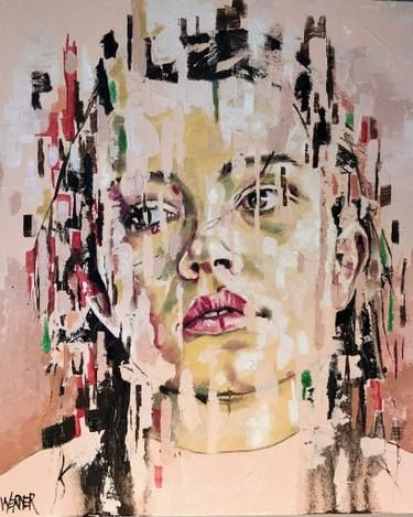 "Saatchi Art Artist Werner Smith; Painting, ""Dynamic Stasis #6"" #art"