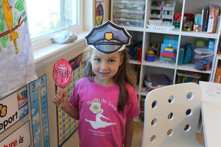 Police Officer Printables