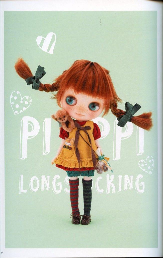 BOOK- DollyBird Vol. 23 | Blythe, Jeffrey Fulvimari, Junie Moon character goods…