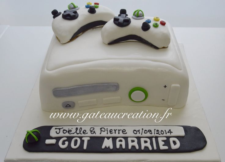 decoration gateau xbox