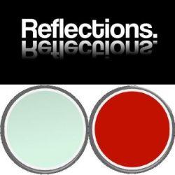 Reflections Splashback Panel 3100mm x 748mm MINT/STILETTO