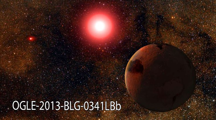 OGLE-2013-BLG-0341LBB THE PLANET SHOWS HOW HABITABLE PLANETS COULD POSSIBLY BE LOCATED IN A BINARY STAR SYSTEM. THE PLANET ORBITS ONE OF TWO STARS IN A BINARY STAR SYSTEM AT THE SAME DISTANCE FROM WHICH THE EARTH ORBITS THE SUN.   THE PLANET'S STAR IS MUCH DIMMER THAN OUR SUN AND DOES NOT PRODUCE A LOT OF HEAT, SO THE PLANET ITSELF IS NOT HABITABLE. HOWEVER, SCIENTISTS SAY THIS DEMONSTRATES THAT ROCKY PLANETS CAN FORM IN EARTH-LIKE ORBITS EVEN WHEN THERE ARE TWO STARS INVOLVED.