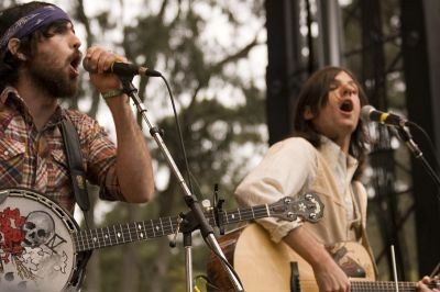 The Avett Brothers. Saw them at Memphis in May and loved them from that moment on.