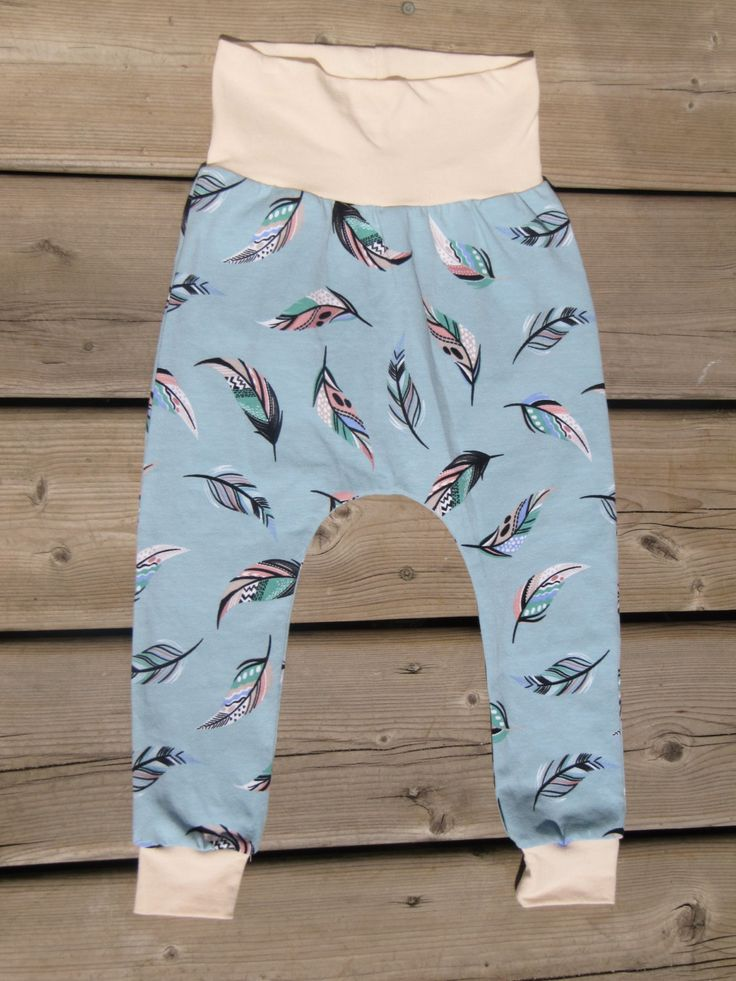 Feathers Harem Joggers- 2t by MommyandmeboutiqueCA on Etsy