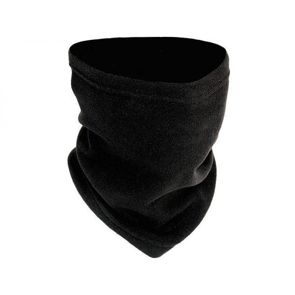 Κάλυμμα λαιμού σενίλ COSA μαύρο