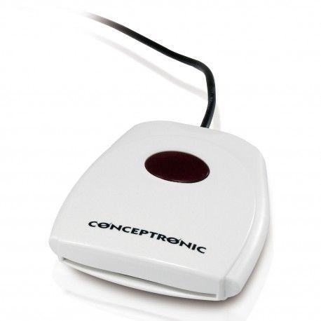 LECTOR USB DE DNI ELECTRONICO CONCEPTRONIC DNIE Y EID C05-163. Muy util para realizar la declaración de la renta, pedir cita medica, etc... http://informaticamipc.com