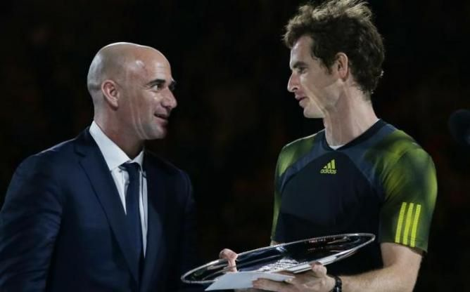 Andre Agassi on Andy Murray :´If he became a father, he could benefit!´