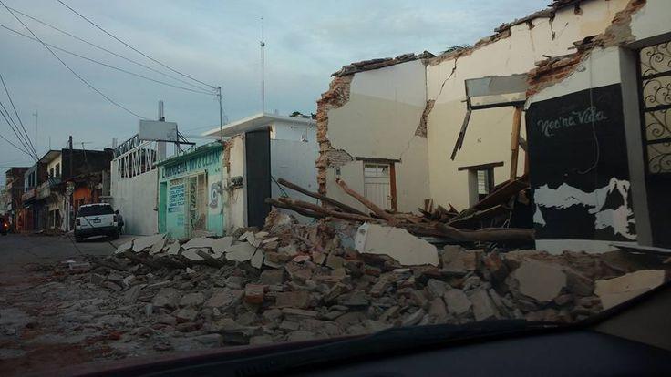 41 municipios de Oaxaca son declarados en emergencia por sismo