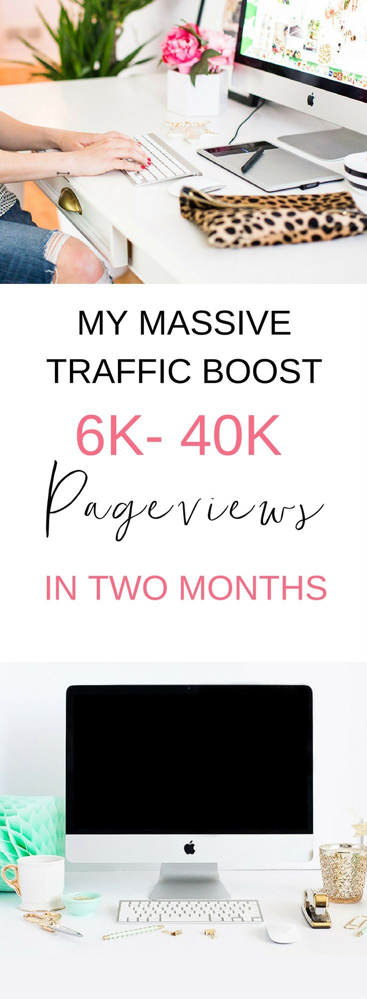 Increasing my traffic from 6k to 40k didn't seem possible to me. I remember when I was at just 20 people a day. It can really happen, and here's what helped me!