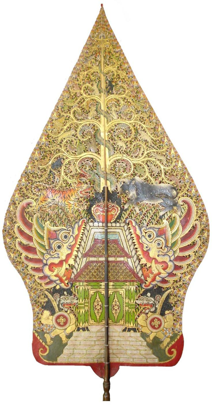 Wayang Kulit Java Tree of life