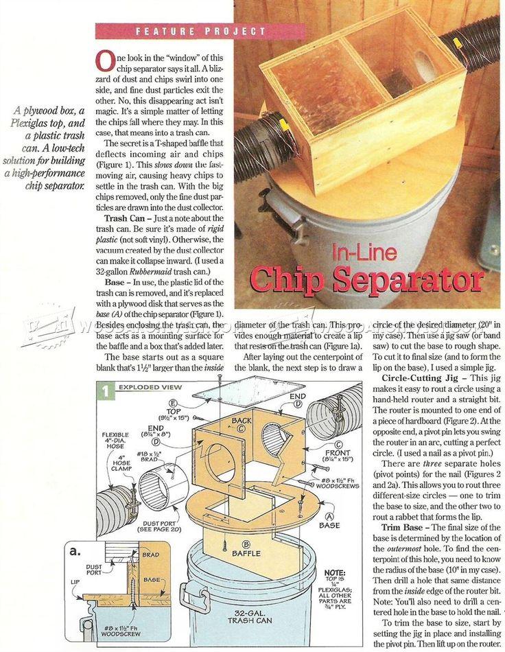 # 3003 DIY colector de polvo - Recogida de polvo