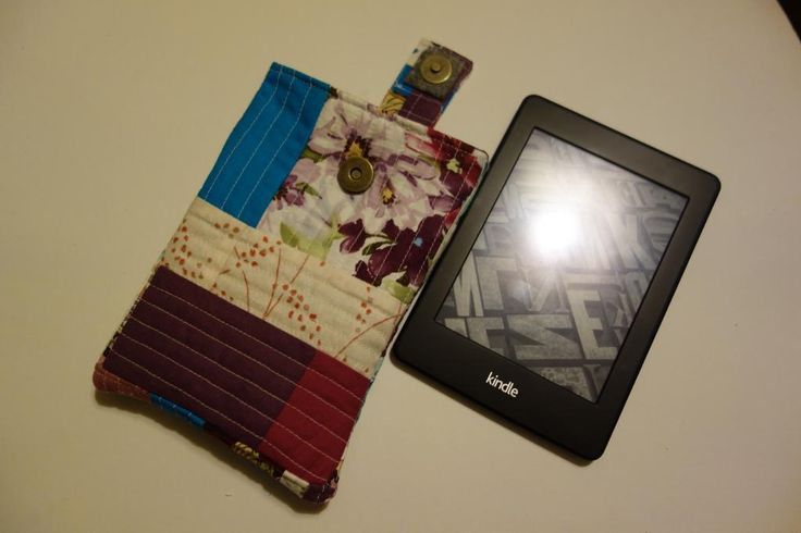 Looking for quilting project inspiration? Check out Kindle cover QAYG by member MagdalenaB. - via @Craftsy