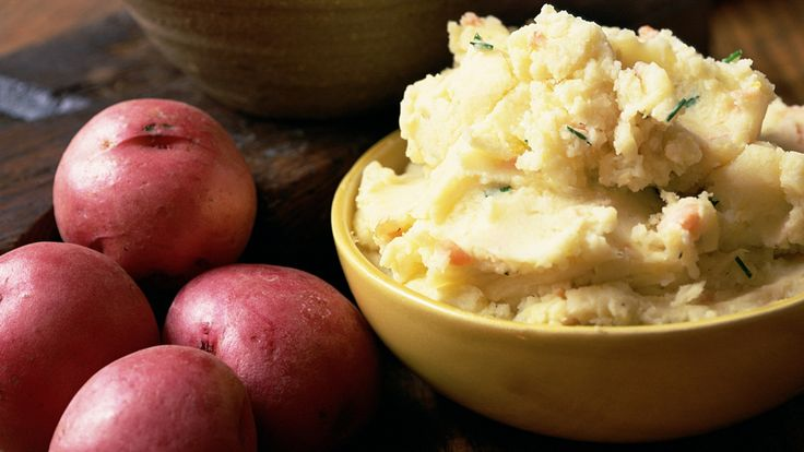 Onion and Garlic Mashed Potatoes