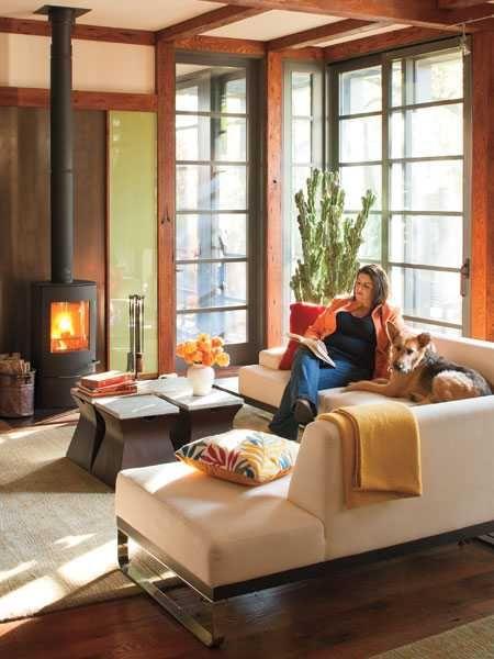 simple wood asian living room design ideas