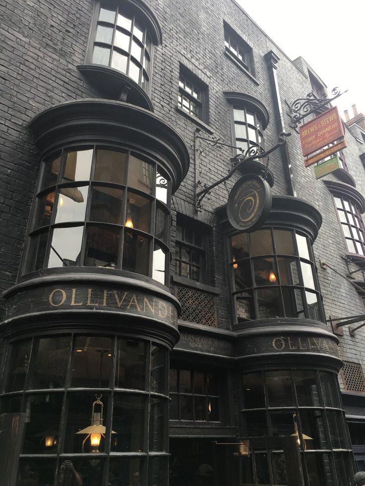 Ollivanders Wand Shop More