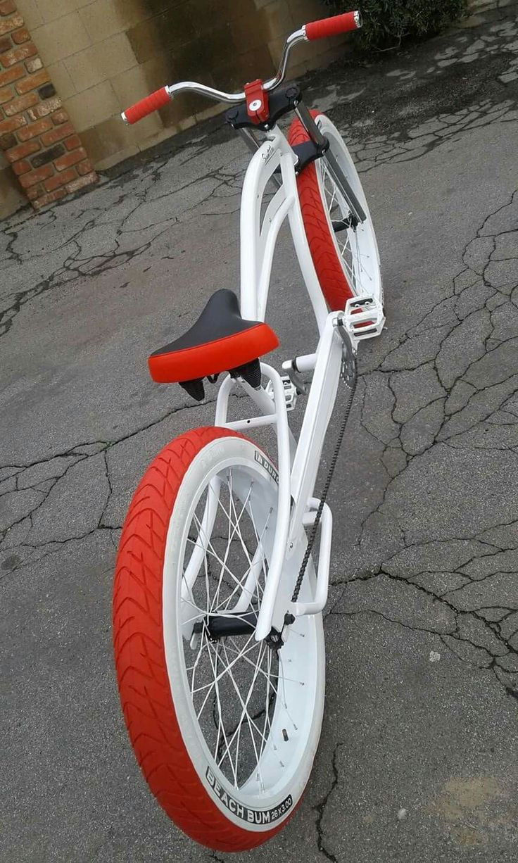 White&red #taobike
