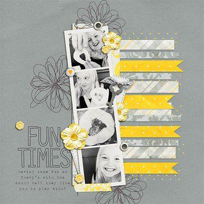 """Fun Times"" by 4noisyboys, as seen in the Club CK Idea Galleries. #scrapbook #scrapbooking #creatingkeepsakes"