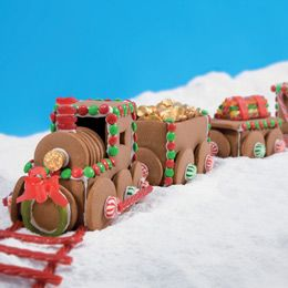 How to make a Gingerbread Train