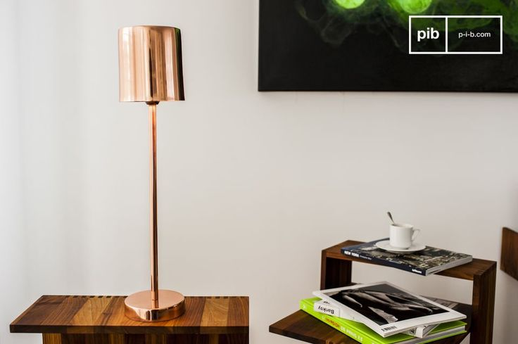 The table lamp Gryde is a small lamp that spreads pleasant, warm light that is reminiscent of the magnificent sunsets in the far north.