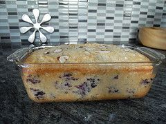 Vanilla Blueberry Almond Bread (Cascadian Farm)