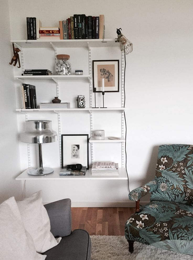 Elfa shelf. Photo: Sara Eriksson. Instagram: lainiosara