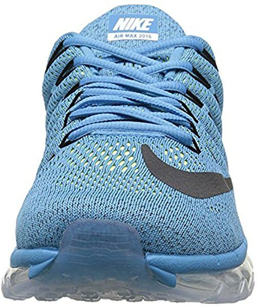 official photos dd465 03b22 Nike Air Max 2016, Chaussures de Course Homme, Bleu/Noir (Blue Lagoon