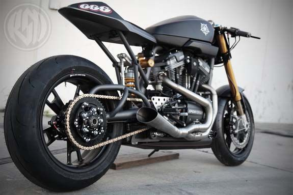 Harley Davidson XR 1200 by Roland Sands
