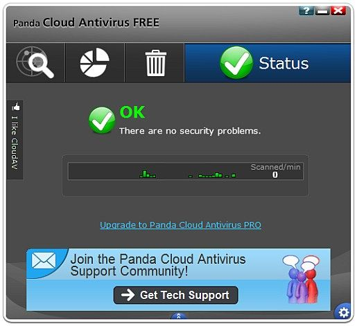 Panda Security has released Panda Cloud Antivirus 1.5 as an upgrade to 1.4. The software includes a lot of notable fixes, including faster scanning speeds, even lower resource usage, more advanced configuration options and more. We will be comparing these updated claims to our test's from the 1.4 versions. Also, Panda Cloud antivirus remains our antivirus of choice due to its light weight and detection effectiveness, on all of our non test systems.