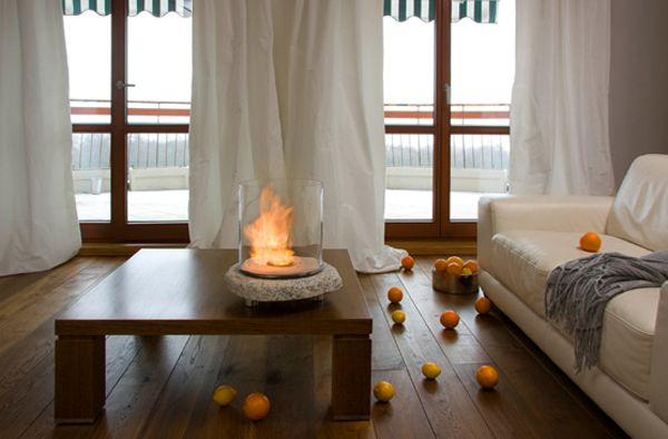 Modern Fireplaces with Open Air