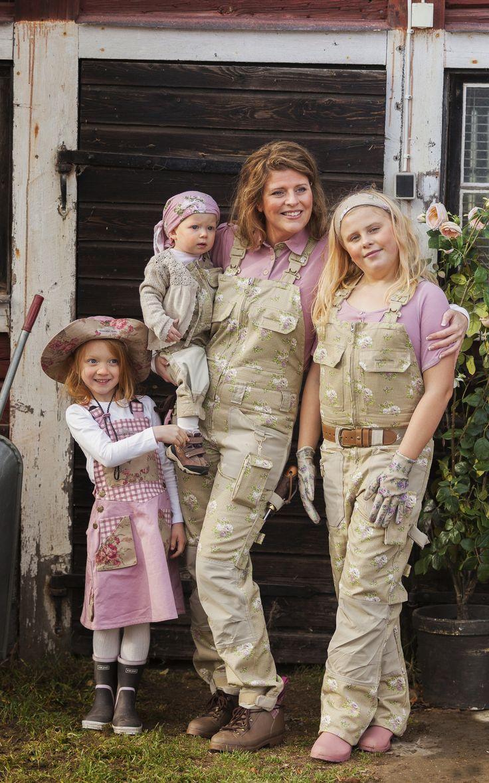 Продукция шведской марки Garden Girl разработана специально для женщин – это стильная удобная  и функциональная одежда, обувь и аксессуары для работы в саду в любую погоду. www.comstagarden.ru