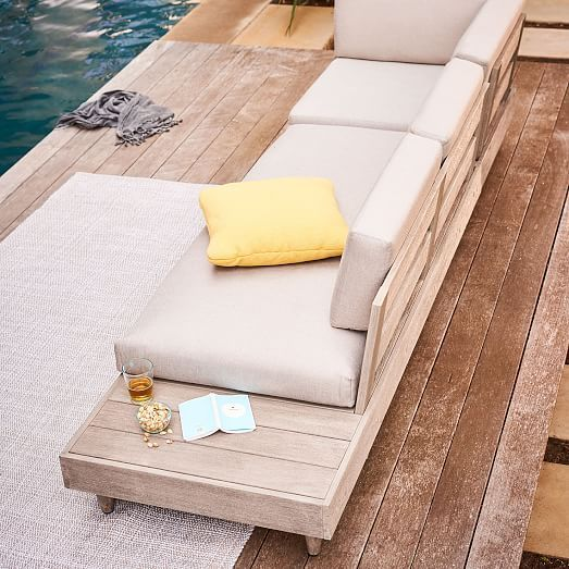 Design Your Own Exterior: Build Your Own- Portside Low Outdoor Sectional