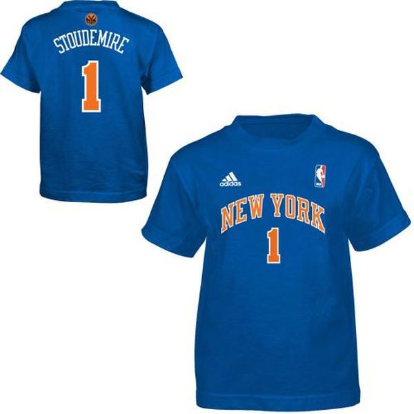 adidas New York Knicks Amare Stoudemire Preschool Game Time T-Shirt - $9.99
