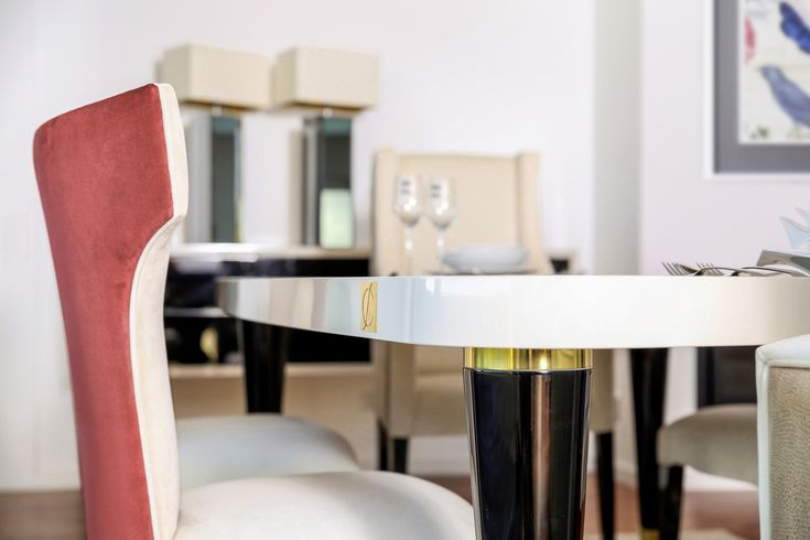 Our Sublime dining room collection represents the luxury in the best way. The gorgeous interior space feels inviting.