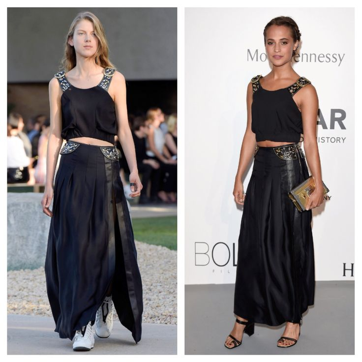 Cannes Film Festival 2015.. See more runway to red carpet looks at www.madlyfashionable.com!