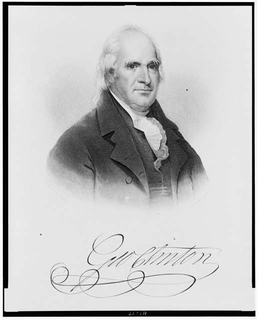 George  Clinton, 4th 1805-1812 (died in office) Vice President to Thomas Jefferson 1805-1809  Vice President to James Madison 1809-1812