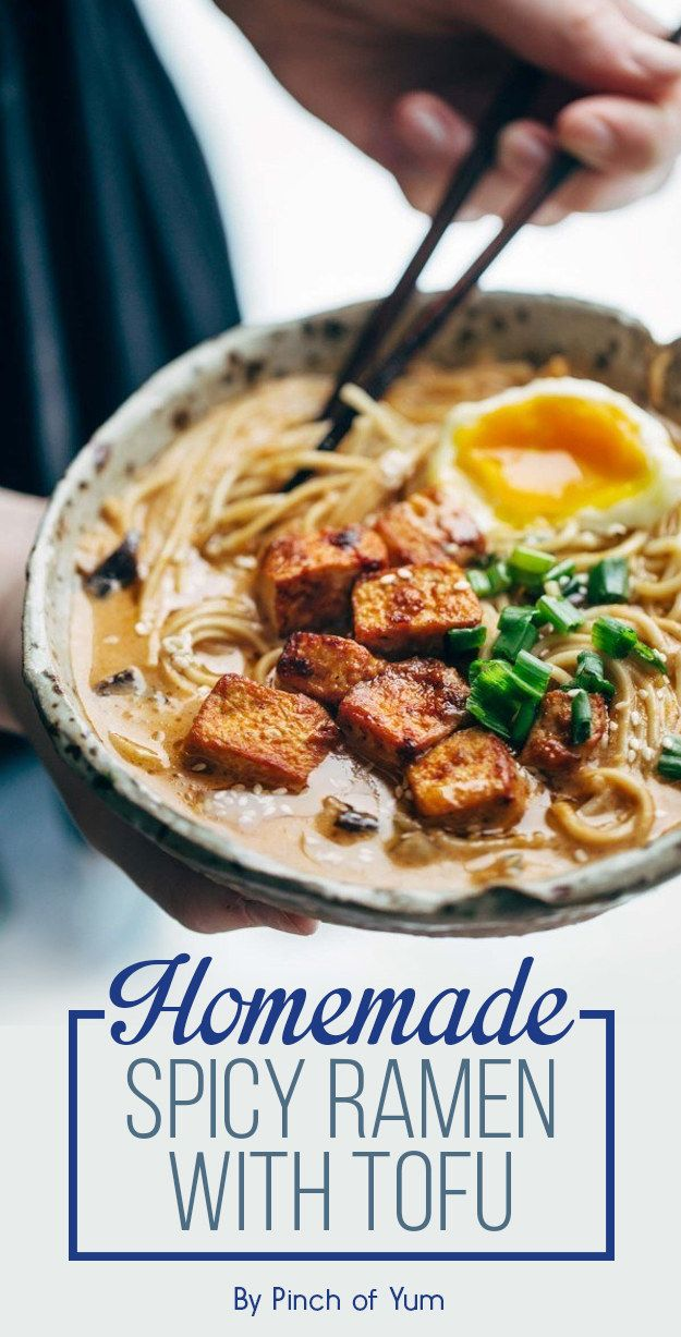 Homemade Spicy Ramen with Tofu | 7 Tasty Dinners To Eat This Week