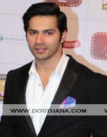 Varun Dhawan biography, profile, biodata, height, age, Date of birth, siblings, wiki, family details. Varun Dhawan profile, Image gallery link with profile details.