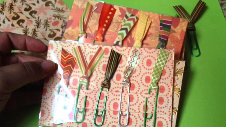 Fall Paper Clip Packs For My Craft Fair...inspired by Cynthia!