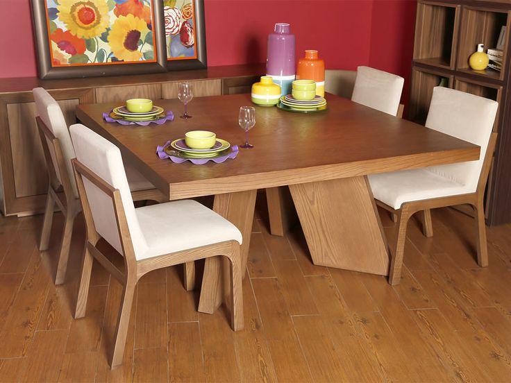 Imagenes de comedores de madera for Comedores de madera nuevos