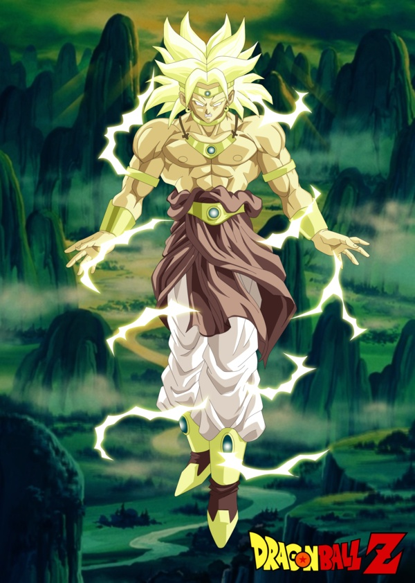 """Struggle all you want. In the end you'll still die!"" - Broly"