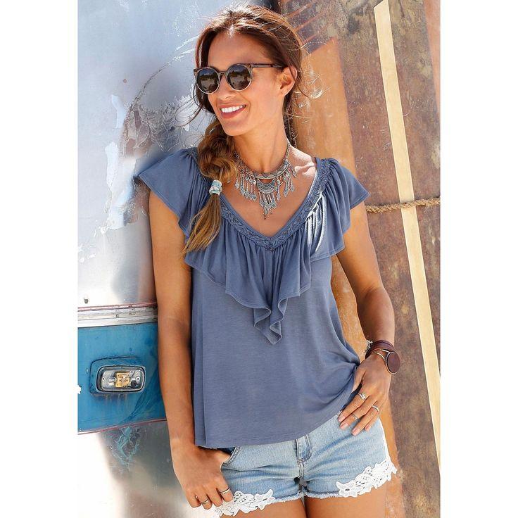 Cooles Shirt im EthnoLook Art.Nr.680790 Erhältlich in