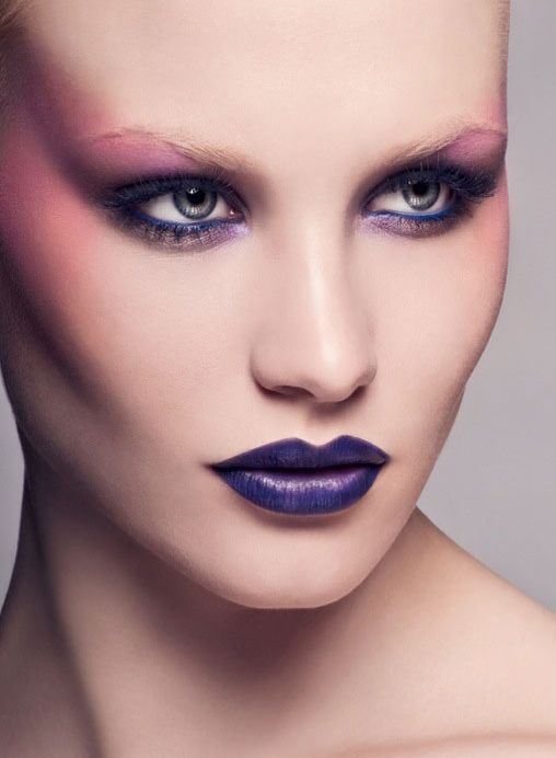 Purple Eyeshadow Tutorial: 54 Best Images About How To Wear Purple Lipstick On
