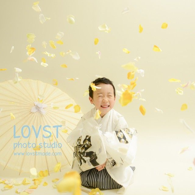 #LOVST#ラブスト#勝どき#子供写真スタジオ#ハウススタジオ #5歳#袴#七五三#着物 ラブストキッズフォトスタジオ