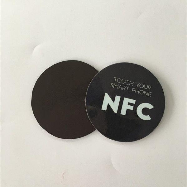 Soft NFC Sticker : Circle25mm Fridge Magnet Anti-Metal NFC Sticker