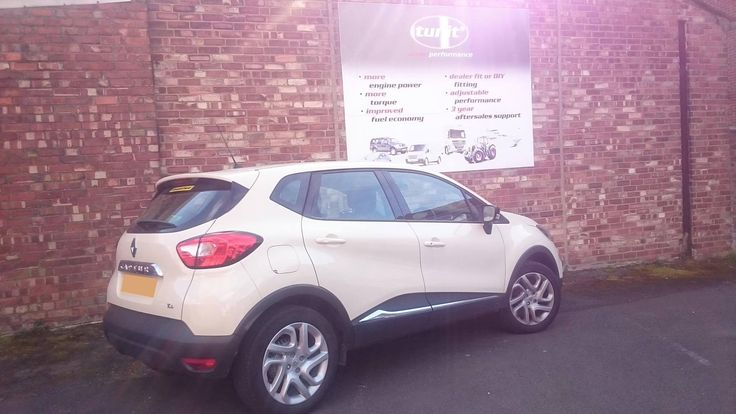 Renault Captur fitted with a new Tunit Optimum: • 90 BHP to 101 BHP • 135 lbs/ft of Torque to 151 lbs/ft • Fuel Savings  01257 274100 info@tunit.com www.tunit.com for more details