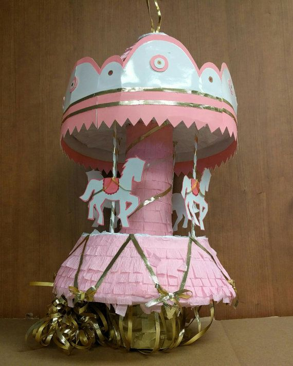 Carousel Piñata by BuildAPinata on Etsy