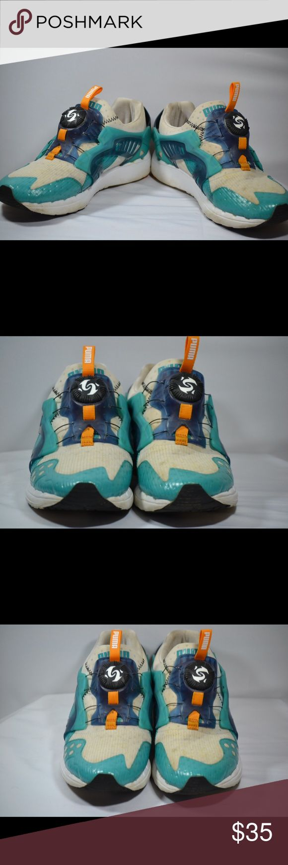 Puma Disc System Sneakers Puma Disc System Sneakers. Some discoloration but good condition shoes. Please view photos for better details. Puma Shoes Athletic Shoes